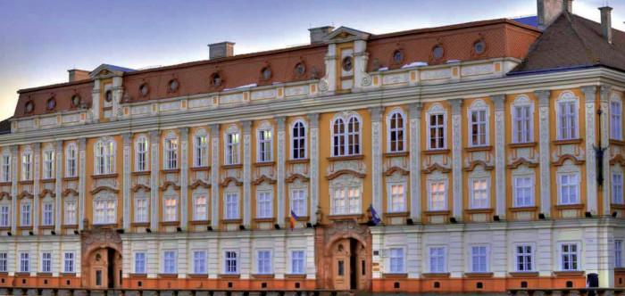 A temesvári barokk palota
