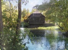 A túristvándi vízimalom